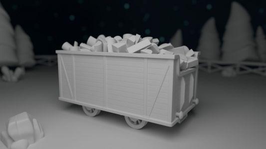 Vagón de maderas